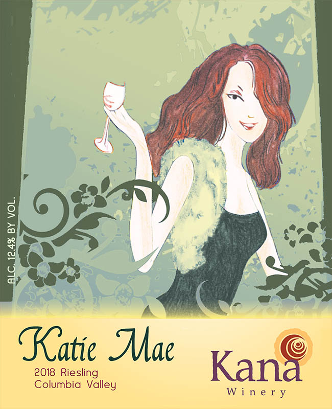 Kana Winery 2018 Katie Mae Riesling, Columbia Valley